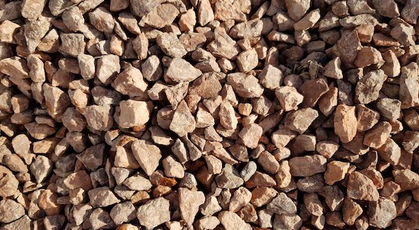 Hardened Red 20mm JMS Aggregate Stone