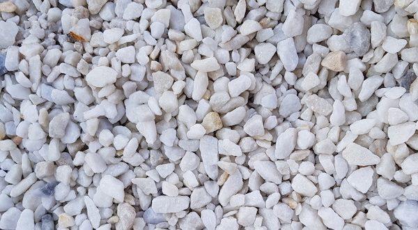 Polar White Gravel JMS Aggregates